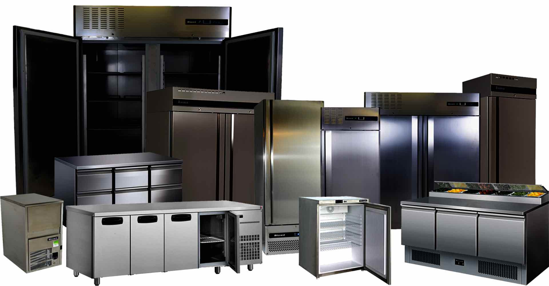 Commercial Refrigerators Cover Image