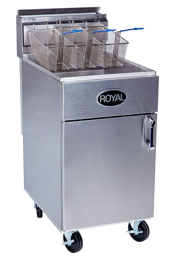 Royal Deep Fryers Cover Image